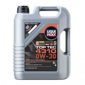 שמן Liqui Moly TopTec 4310 0W30 5L