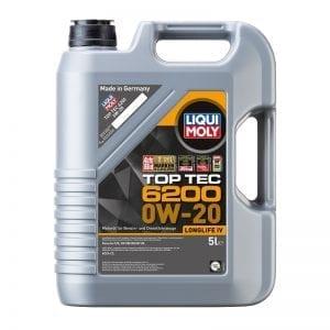 שמן Liqui Moly TopTec 6200 0W20 5L