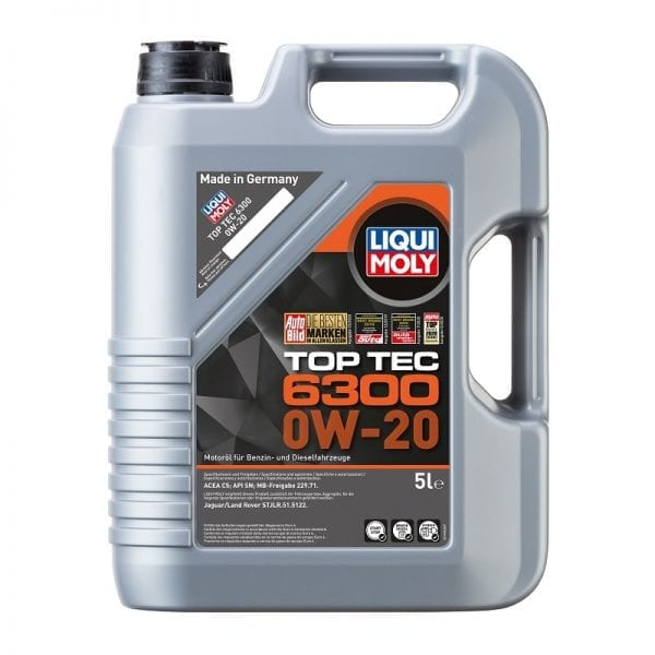 שמן Liqui Moly TopTec 6300 0W20 5L