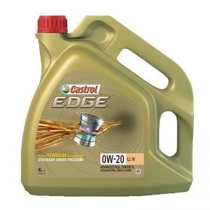 שמן Castrol EDGE 0W20 LL IV 4L