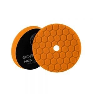 פד ספוג למכונה Chemical Guys Hex-Logic Quantum Orange 5inch