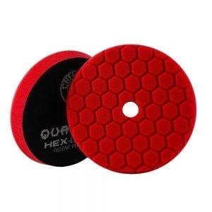 פד ספוג למכונה Chemical Guys Hex-Logic Quantum Red 6inch