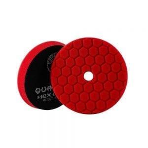 פד ספוג למכונה Chemical Guys Hex-Logic Quantum Red 5inch