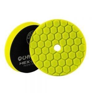פד ספוג למכונה Chemical Guys Hex-Logic Quantum Yellow 6inch