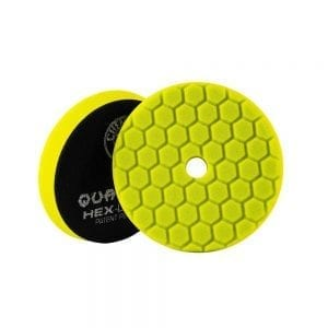 פד ספוג למכונה Chemical Guys Hex-Logic Quantum Yellow 5inch